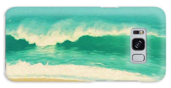 Waves Galaxy Case