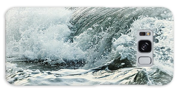 Waves In Stormy Ocean Galaxy Case