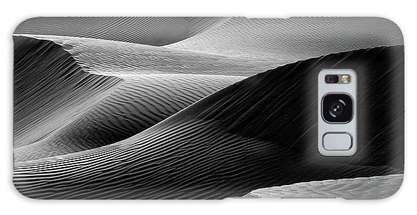 Sand Dunes Galaxy Case - Waves In The Sand by Pieter Joachim Van