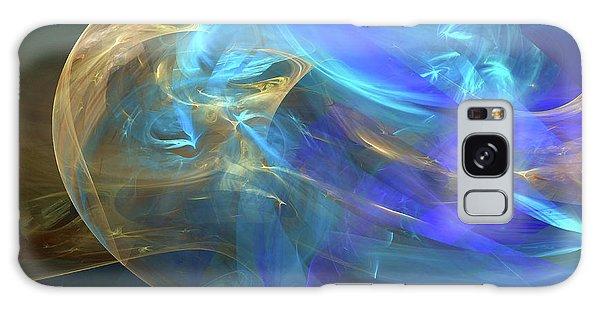 Waves Of Grace Galaxy Case by Margie Chapman