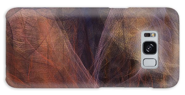 Waves Of The Heart Galaxy Case by Constance Krejci