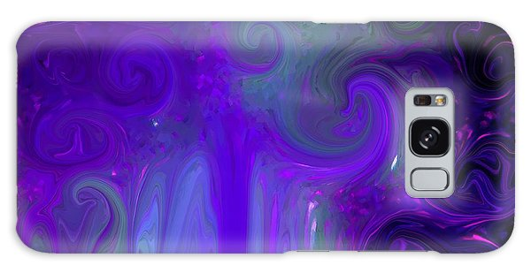 Waves Of Violet - Abstract Galaxy Case by Susan Carella