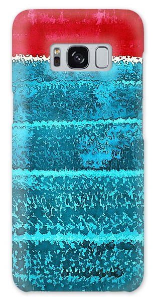 Waves Original Painting Galaxy Case