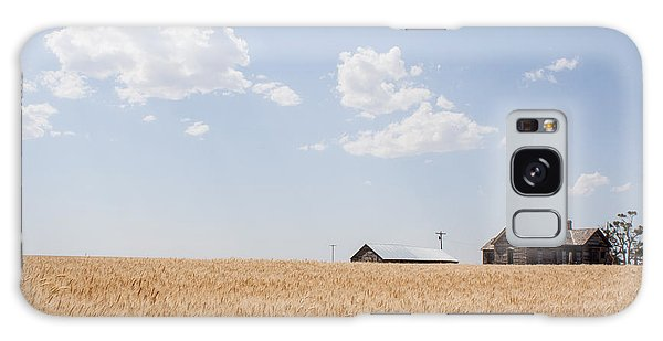 Waving Wheat Homestead Galaxy Case
