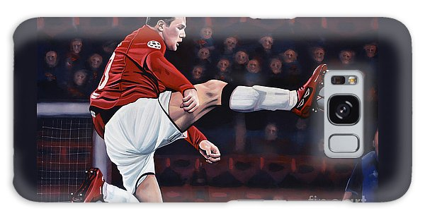 Sportsman Galaxy Case - Wayne Rooney by Paul Meijering