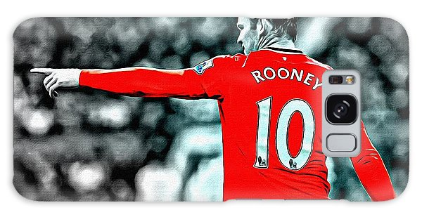 Wayne Rooney Poster Art Galaxy Case