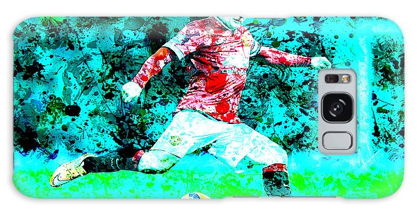 Wayne Rooney Splats Galaxy Case