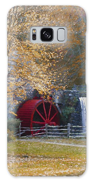 Wayside Inn Grist Mill Galaxy Case by Jean-Pierre Ducondi
