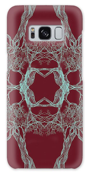We Are All Made Of Stars Tree 12 Hybrid 1 Red Galaxy Case