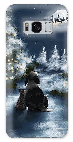 Santa Claus Galaxy Case - We Are So Good by Veronica Minozzi