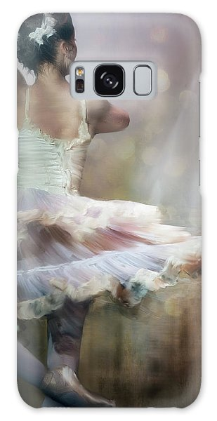 Ballerina Galaxy Case - We Danced To A Whispered Voice... by Charlaine Gerber