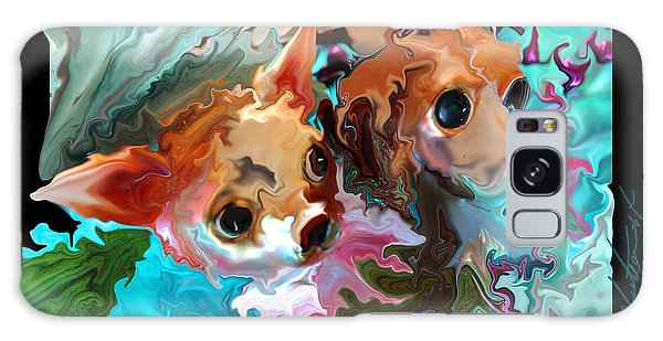 We Didn't Do It The Cat It Was The Cat Galaxy Case by Steven Lebron Langston