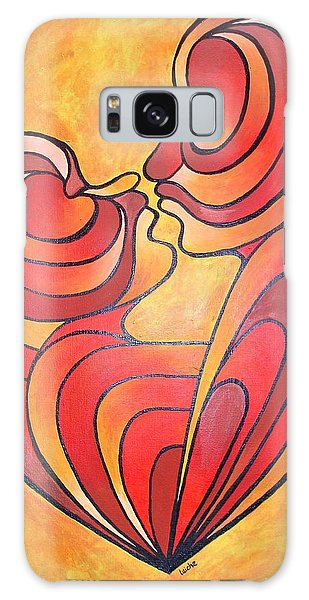 We Two Are One Galaxy Case by Tracey Harrington-Simpson