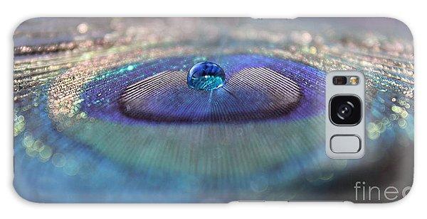 Peacocks Galaxy Case - We Won't Say Goodbye by Krissy Katsimbras