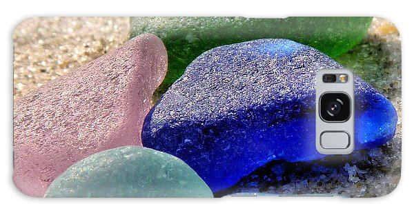 Weathered Glass Galaxy Case