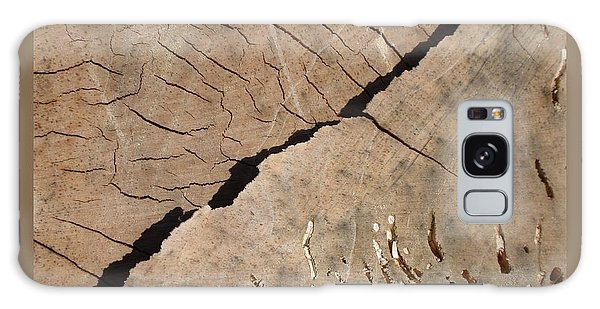 Weathered Willow Wood Galaxy Case by Patricia Overmoyer