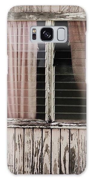 Weathered Window Galaxy Case by Gary Slawsky