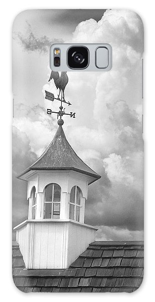 Weathervane And Clouds Galaxy Case