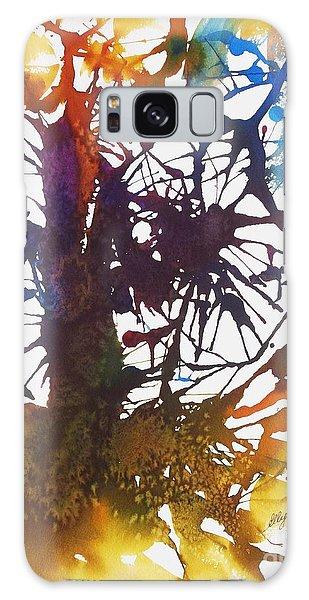 Web Of Life Galaxy Case by Ellen Levinson
