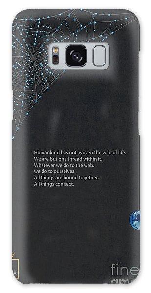 Web Of Life Galaxy Case