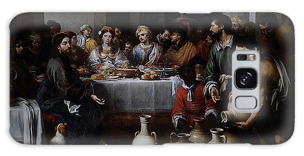 Wedding At Cana Galaxy Case by Esteban Murillo