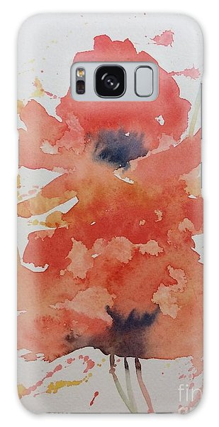 Weekend Poppies Galaxy Case
