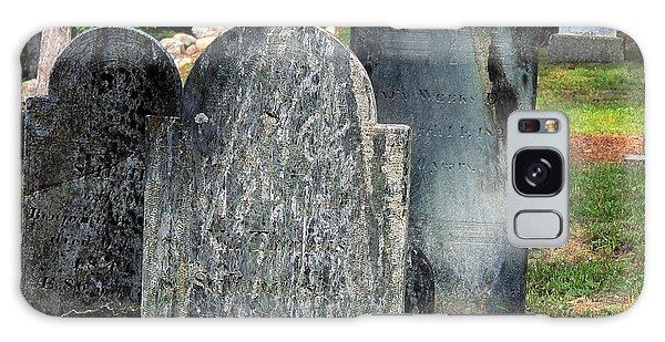 Weeks Cemetery Galaxy Case by Mim White
