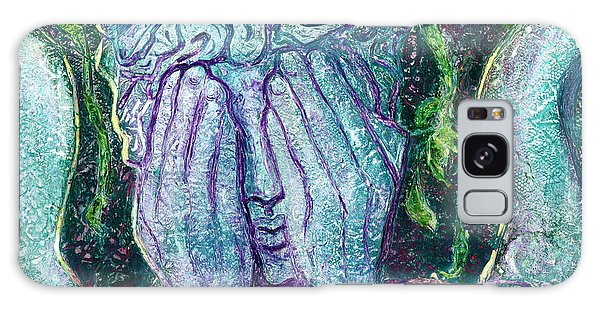 Weeping Angel Galaxy Case