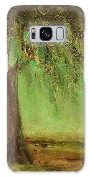 Weeping Willow Galaxy Case