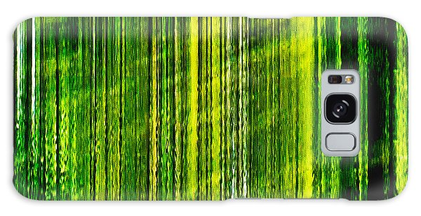 Weeping Willow Tree Ribbons Galaxy Case