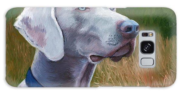 Weimaraner Dog Galaxy Case