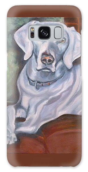 Weimaraner Reclining Galaxy Case