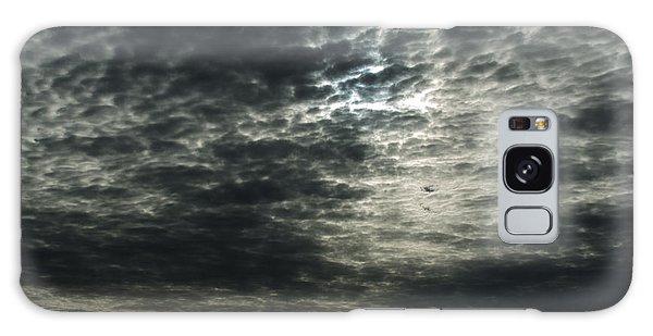 Weird Clouds Galaxy Case