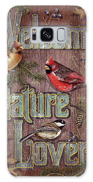 Cardinal Galaxy Case - Welcome Nature Lovers 2 by JQ Licensing