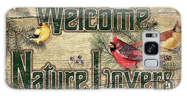 Cardinal Galaxy Case - Welcome Nature Lovers by JQ Licensing