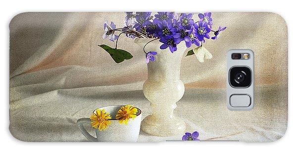 Welcome Spring Galaxy Case by Randi Grace Nilsberg