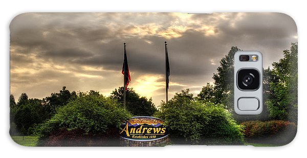 Welcome To Andrews North Carolina Galaxy Case