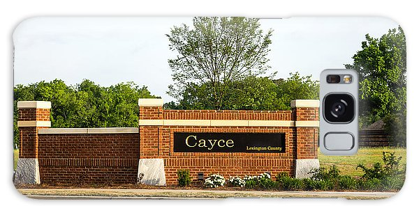 Welcome To Cayce Galaxy Case