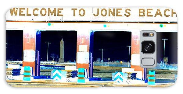 Welcome To Jones Beach Galaxy Case by Ed Weidman