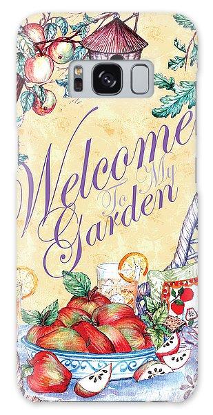Welcome To My Garden Galaxy Case