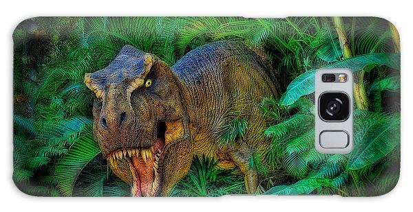 Welcome To My Park Tyrannosaurus Rex Galaxy Case by Olga Hamilton