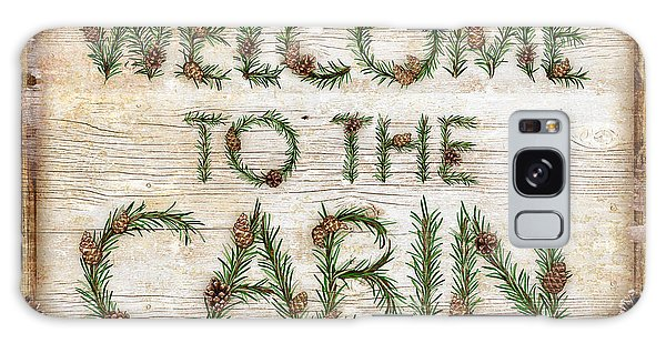 Rustic Galaxy Case - Welcome To The Cabin by JQ Licensing
