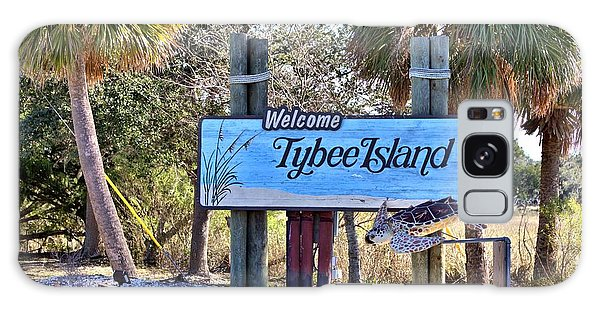Welcome To Tybee Galaxy Case