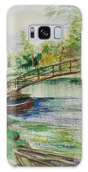 Weldon Springs Footbridge Galaxy Case