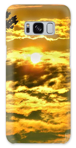Well Good Morning Sunshine Galaxy Case by Margaret Newcomb