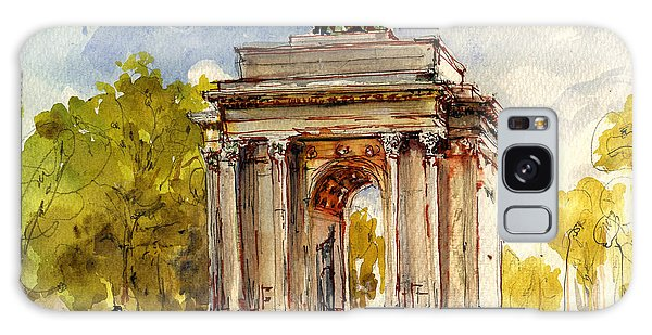 Arched Galaxy Case - Wellington Arch by Juan  Bosco