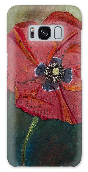 Wellness Poppy Galaxy Case