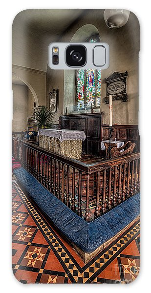 Banister Galaxy Case - Welsh Chapel by Adrian Evans