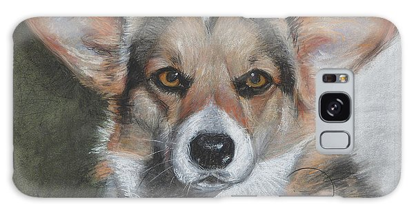 Welsh Corgi Galaxy Case