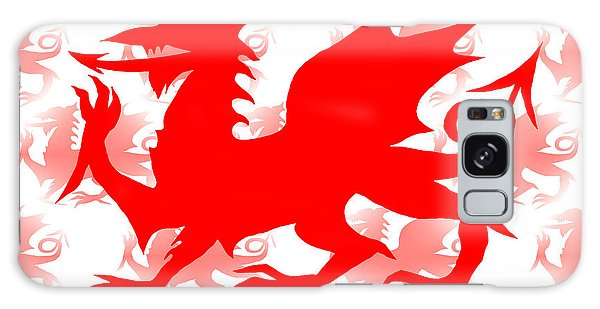Welsh Dragon Galaxy Case